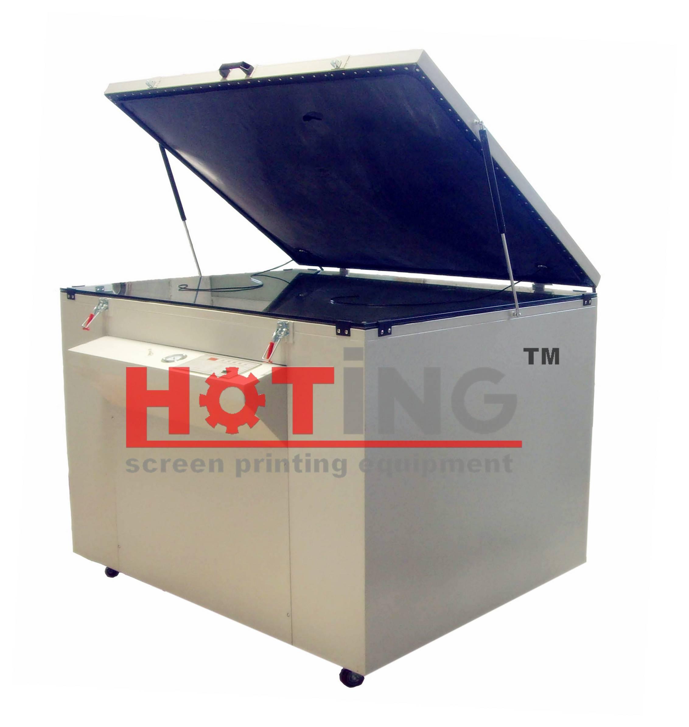 Horizontal exposure machine