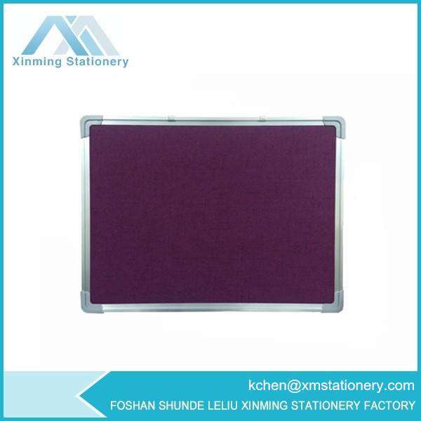Purple Felt pin board fabric pin board pin up board