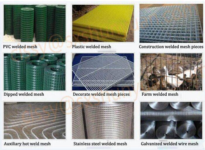 pvc coated wire mesh,green color pvc coated welded wire mesh rolls
