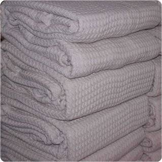 100% COTTON WAFFLE THERMAL BLANKETS