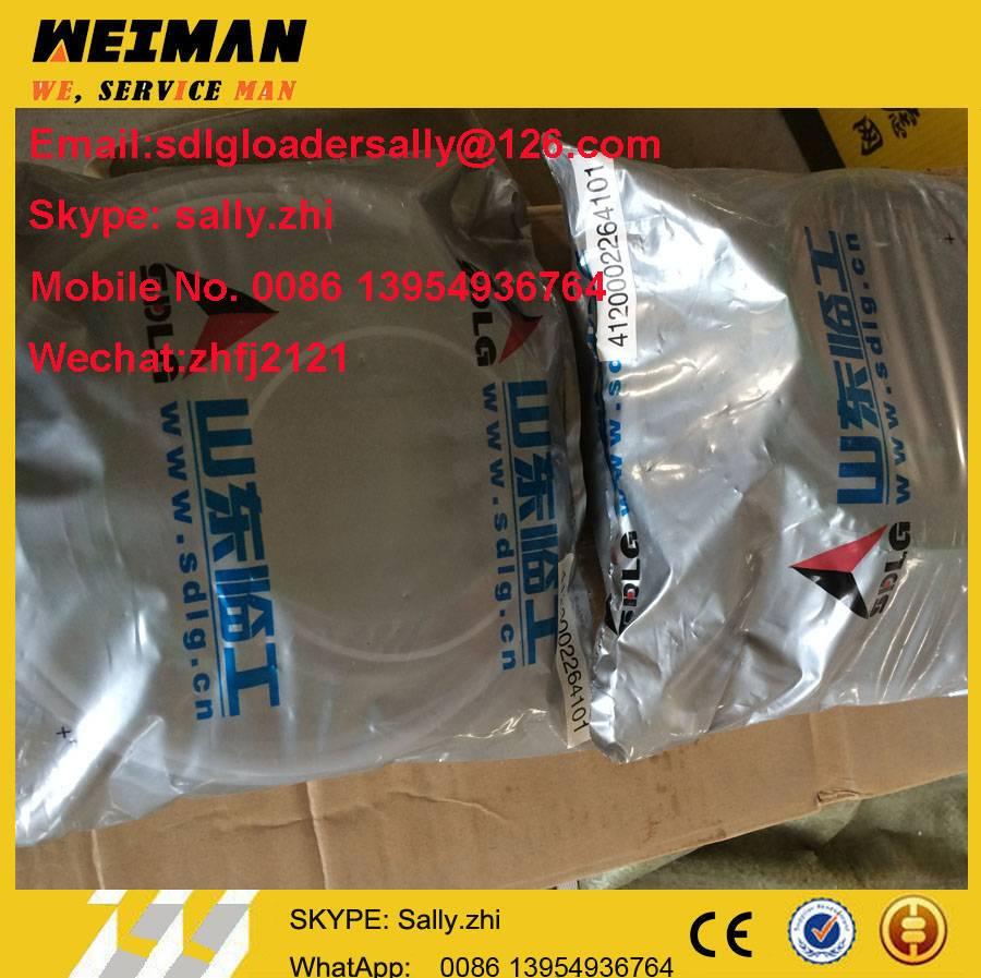 SDLG orginal sealing member aggregate, 4120002264101 with black colour for SDLG wheel loader LG956L