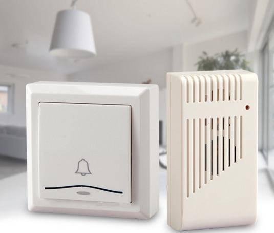 Door Bell with 36 Chimes Single Receiver Waterproof Plug-in Type Wireless Doorbell Cordless Smart Do