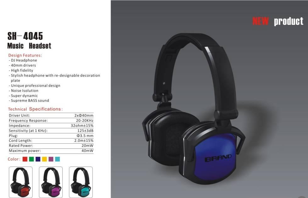 Music Headset(SH-4045)