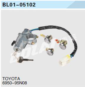 USE FOR TOYOTA KEY SET/IGNITION SWITCH 6950-95N08