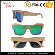 2016 fashion luxury wooden sunglasses Polarized lenses