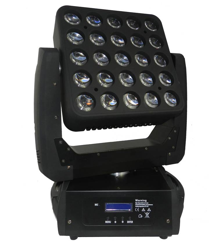 25 Eyes Led Matrix Moving Head Light