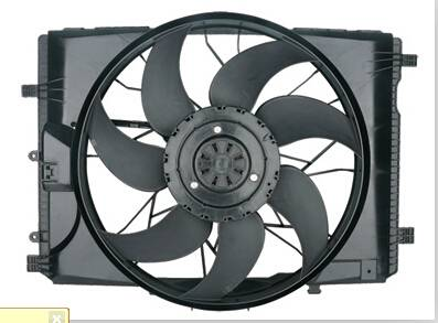 For Mercedes-W204 13V 600W Auto Cooling Fan