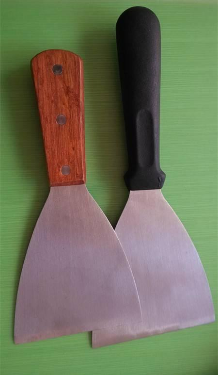 Stainless Steel Scraper, pan scraper, bowl scraper, grill scraper, griddle scraper, kitchenware, gra