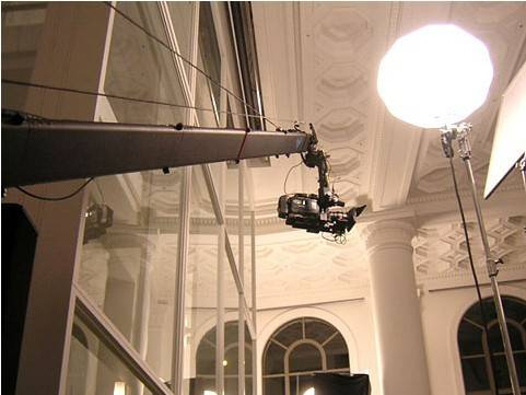 35ft length Camera Crane of Jimmy Jib extreme