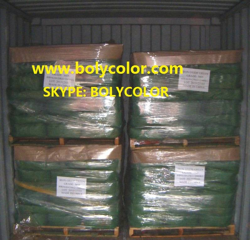 Supply Iron Oxide Green from Bolycolor