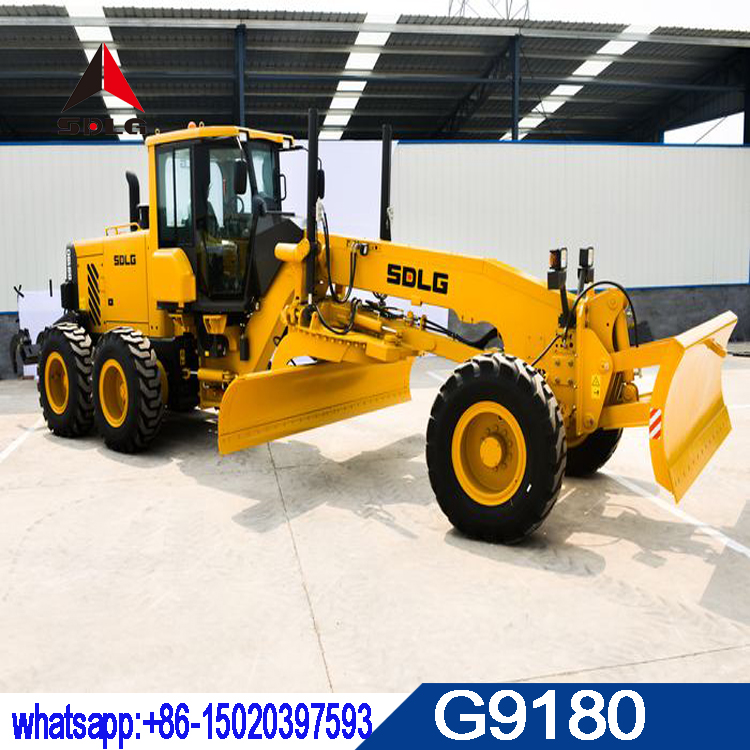 SDLG operating weight 15T motor grader G9180 with best quality and low price for sale