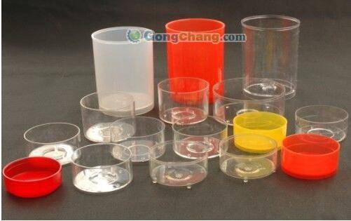 Factory direct sales all kinds of  tealight candle flame-retardant plastic case