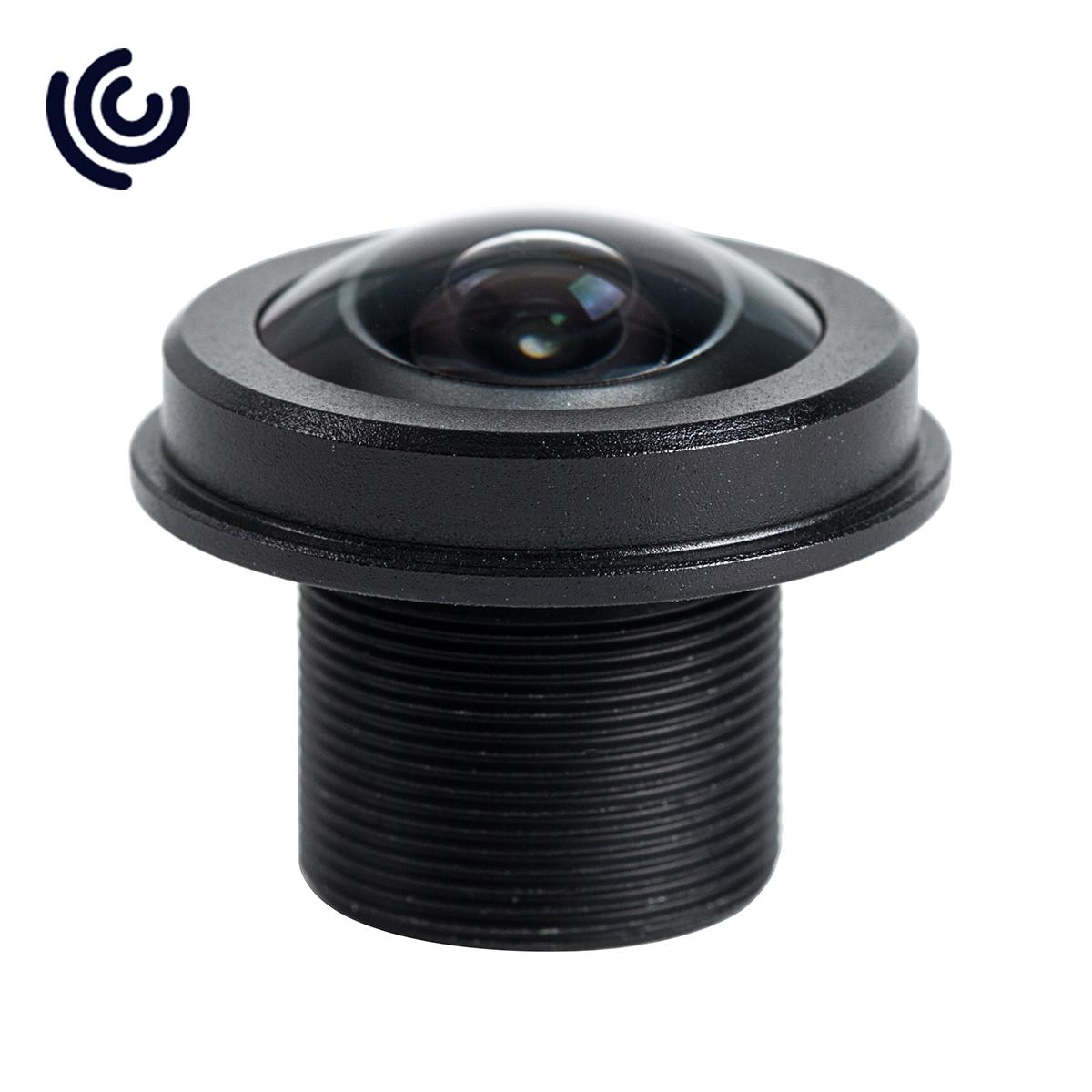 """1/2.5"""" 1.57mm 5MP 180 Degree M12 Fisheye Lens"""