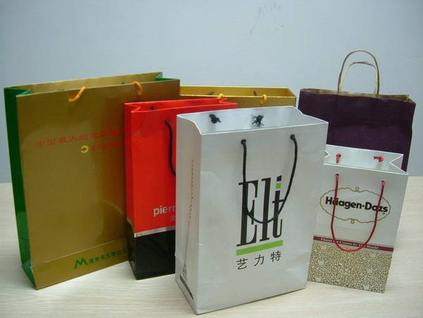 Custom Paper Shopping/Gift/Packaging Bags Printing