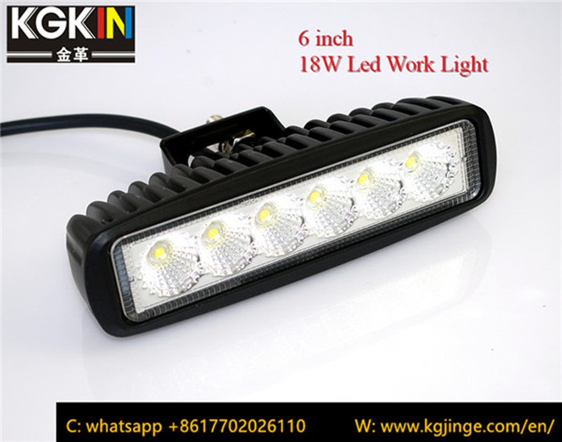"""6"""" 18W Led Light for Auto Car Off Road"""