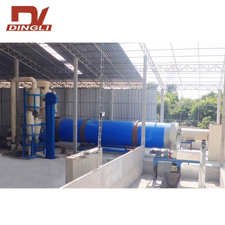 Professional Brewers Grain Rotary Dryer