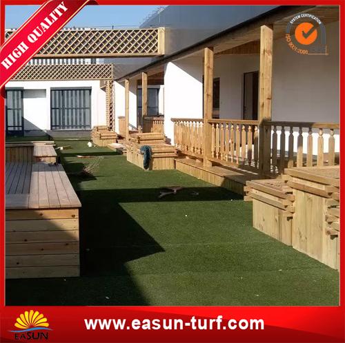 Cheap Fake Artificial Grass Carpet For Balcony and garden-AL