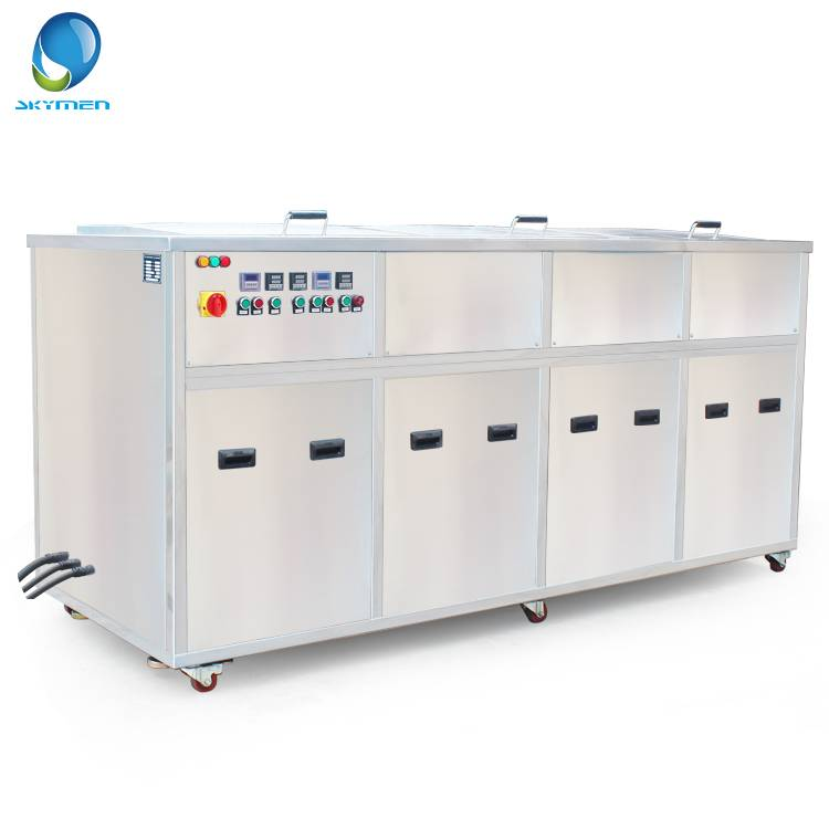 Ultrasonic cleaning equipment with filtration rinsing and dring drying function