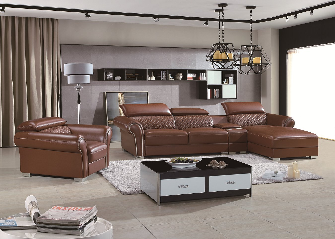 Modern Design Luxury Leather Sofa