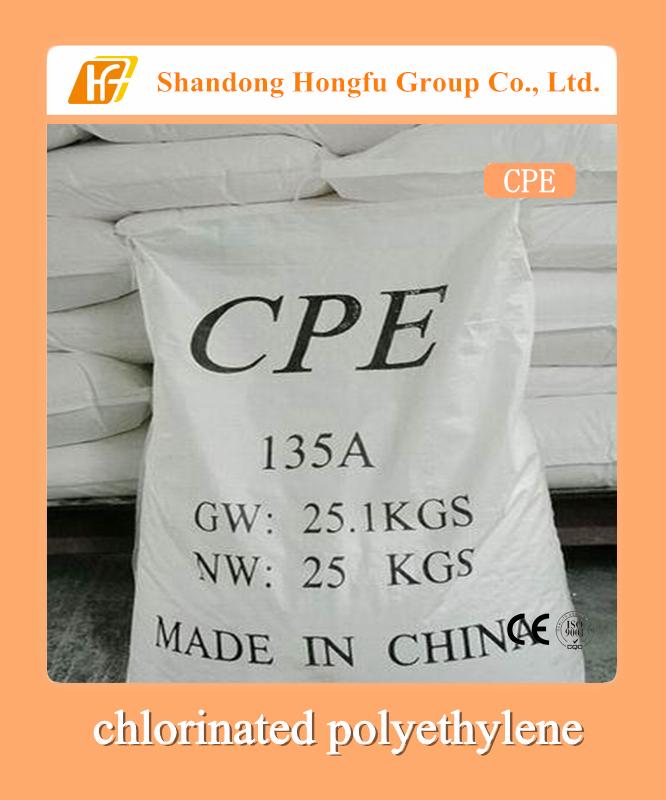 chlorinated polyethylene, CPE, PVC addtives, PVC impact modifier