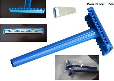 Prep Razor;Medical Consumables & Plastic Molds/Plastic Mold for Electronic Components/plastic inject