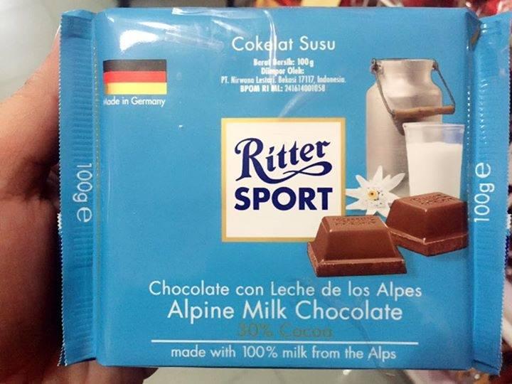 Ritter sport 100g