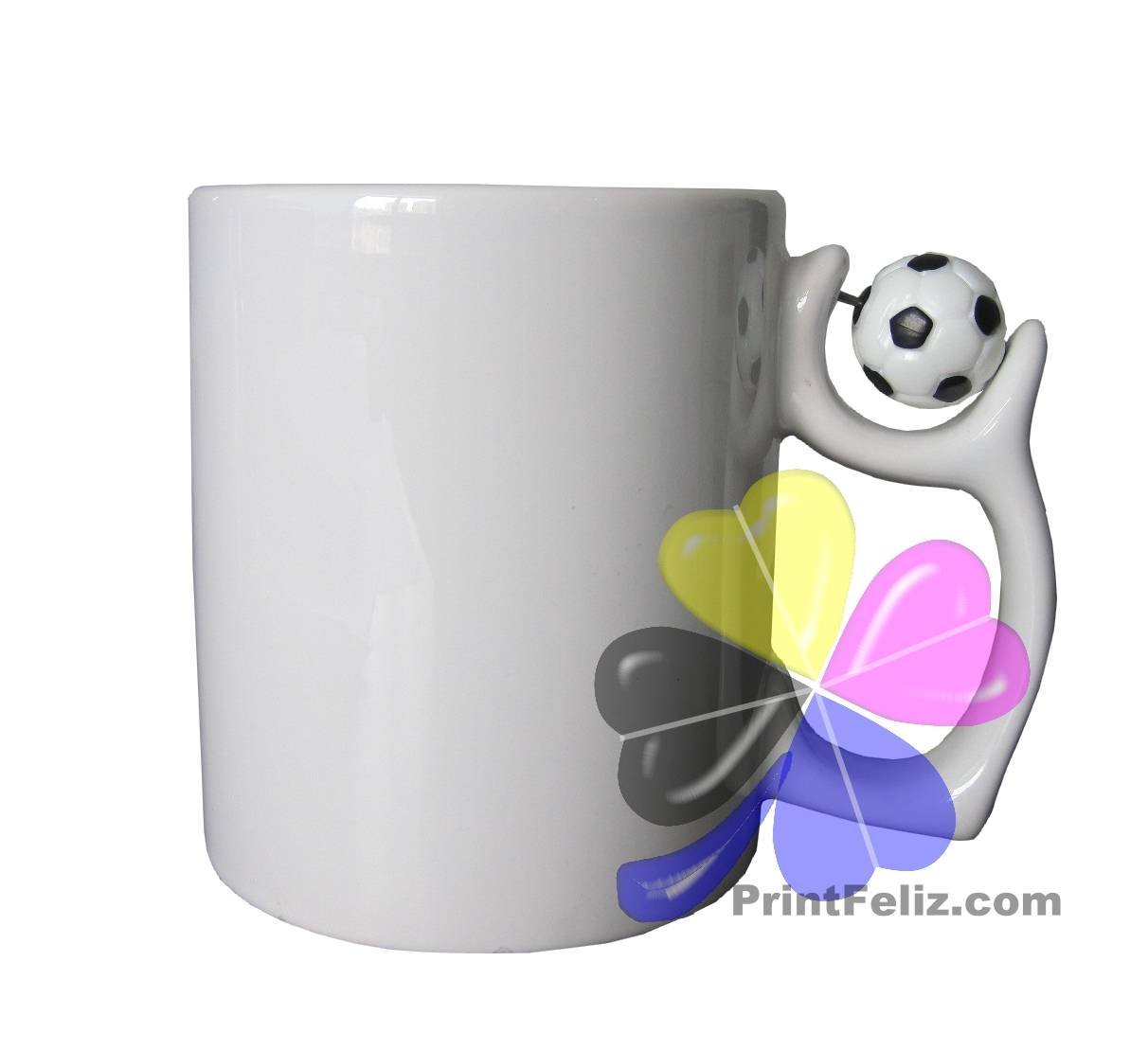 Printfeliz Sublimation  Football/Soccer Mug