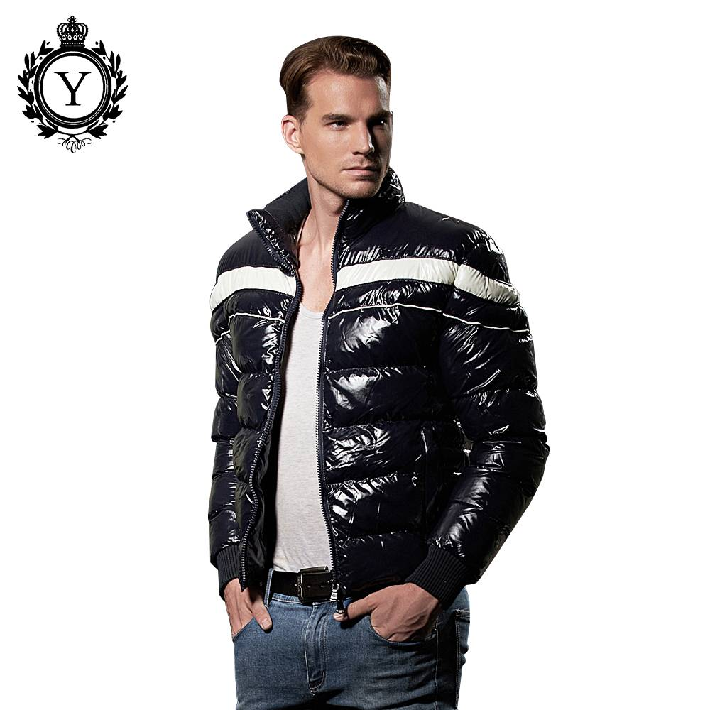2016 custom branded ultra light outdoor biker winter clothing down coat men jacket for winters