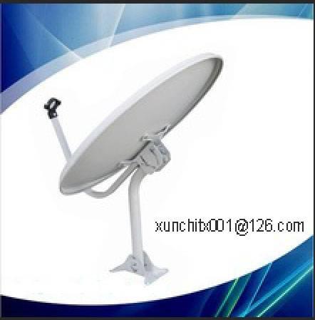 offset Ku-band 60cm dish antenna indoor type