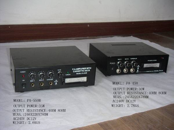 amplifier PA amplifier