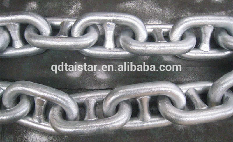 Hot Dip Galvanized Stud Link Anchor Chain Grade U1 U2 U3 High Quanlity With Good Price