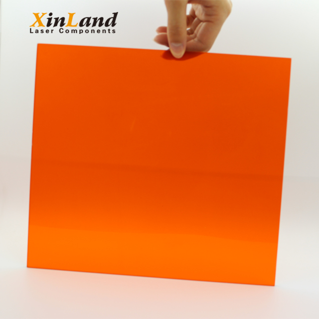 2018 Hottest material laser safety window for 190~550nm