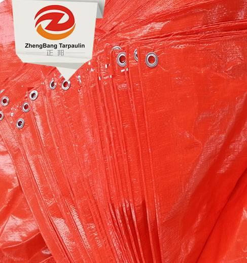 Hot Sale Laminated Pe Tarpaulin Mesh Fabric