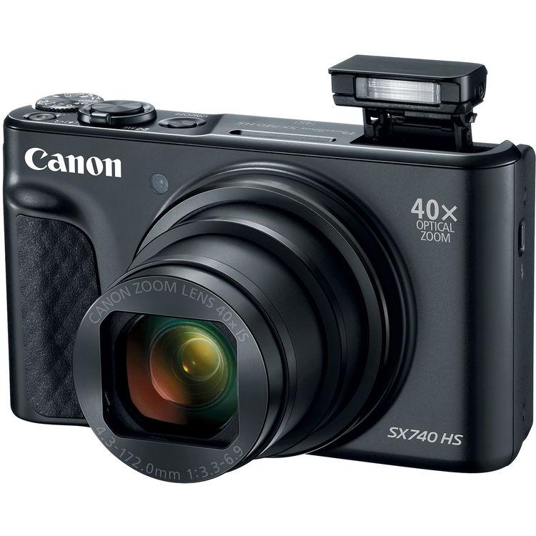 Canon PowerShot SX740 HS (Black)