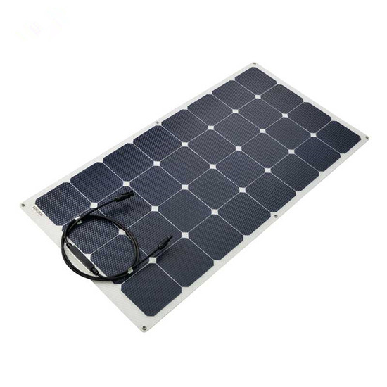 100w - 150w semi flexible solar panel for RV boat