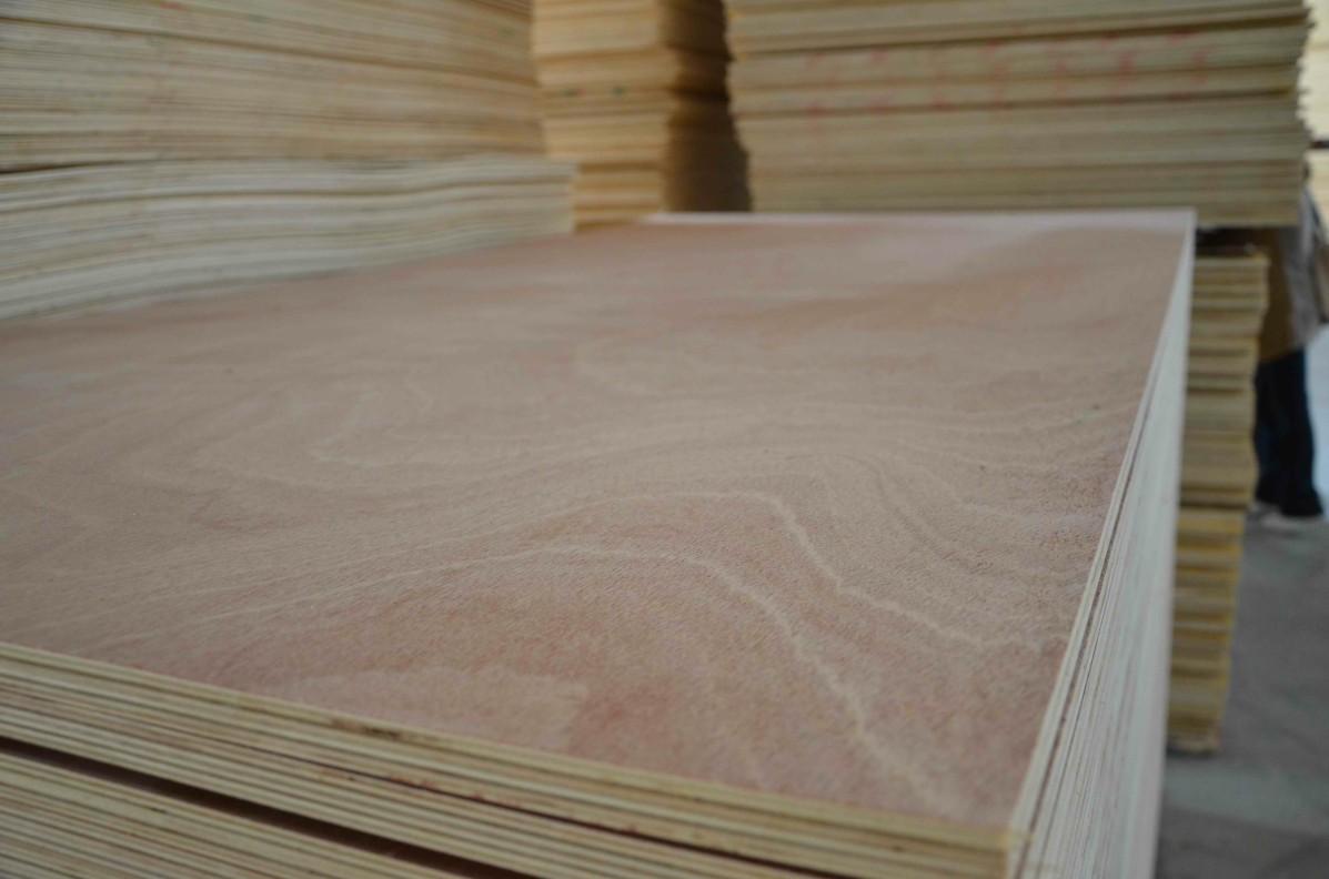 okoume veneer faced plywood