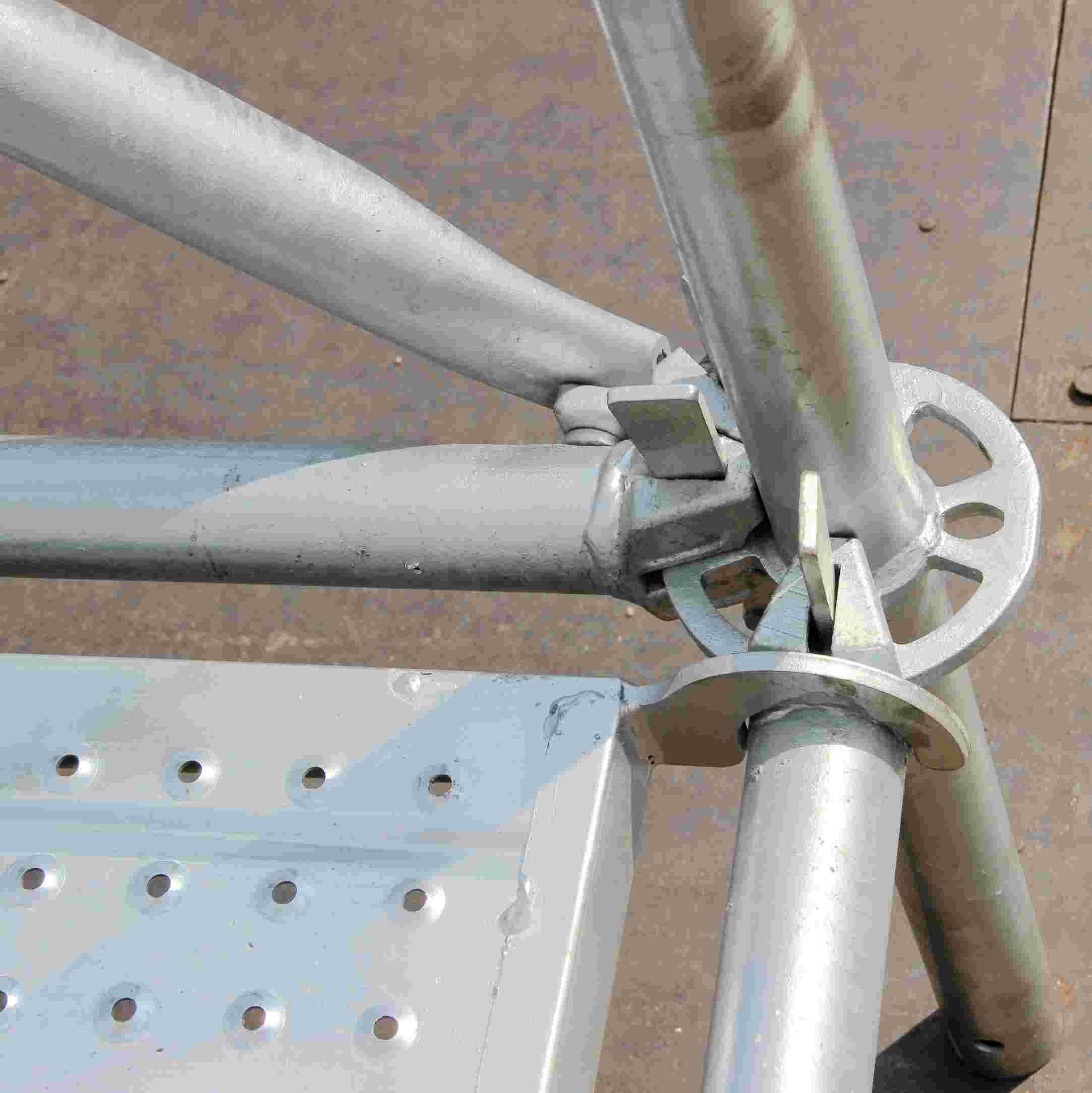 hot-dipping ring lock scaffolding