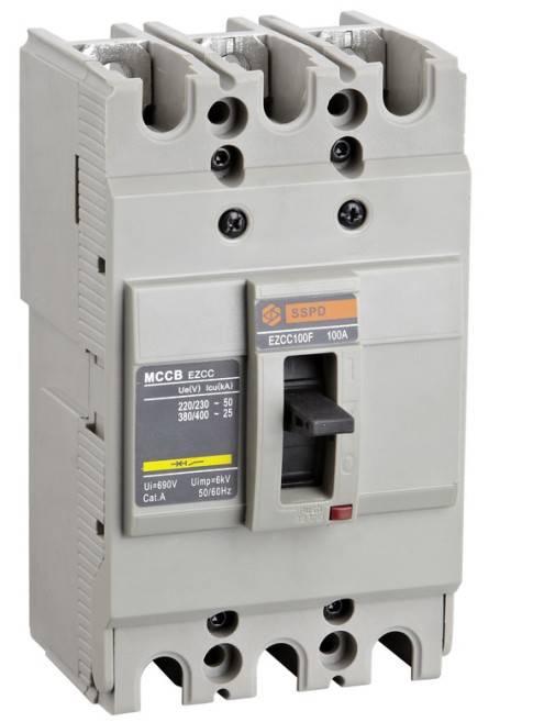 CNSC100A 3P Moulded Case Circuit Breaker(MCCB)