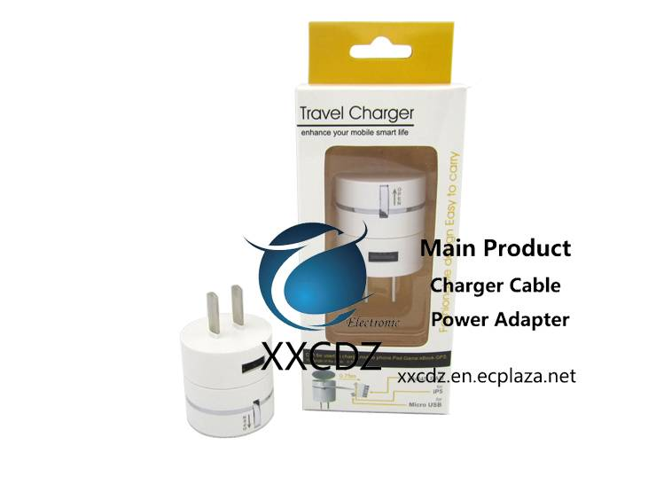 For Gift 3In1 Direct Wall Charger with USB Port Lastest High Quality