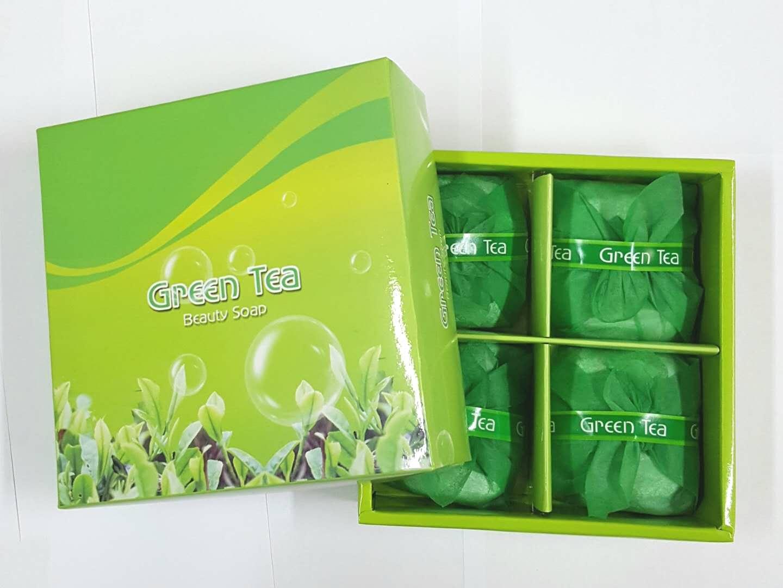 (DASAN) Greentea soap 4p