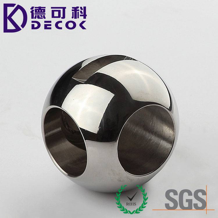 Stainless Steel 3 Way Valve Ball for Water Valve