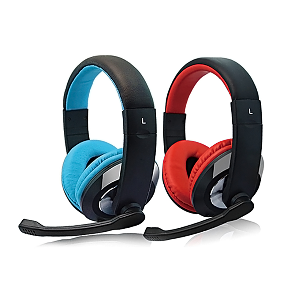 Popular cool fashion promotional new rubber finish headset