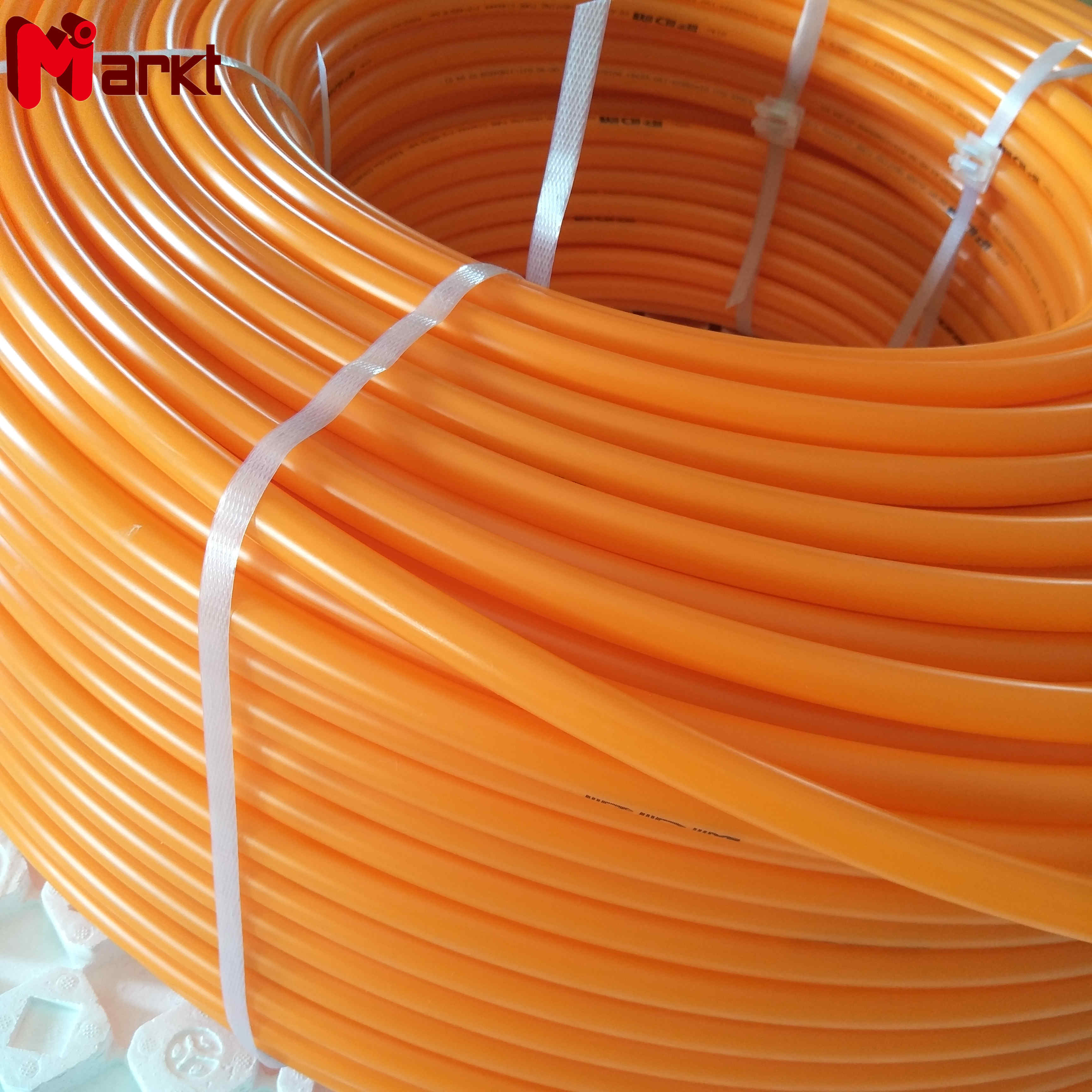 Good quality plastic orange pert pipe for heating systems