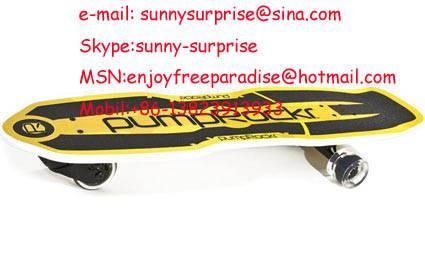 Sell Skateboard,three wheel skateboard, PumpRockr,waveboard