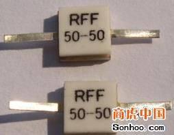 Rf resistors and power supply RIG02 microstrip resistors