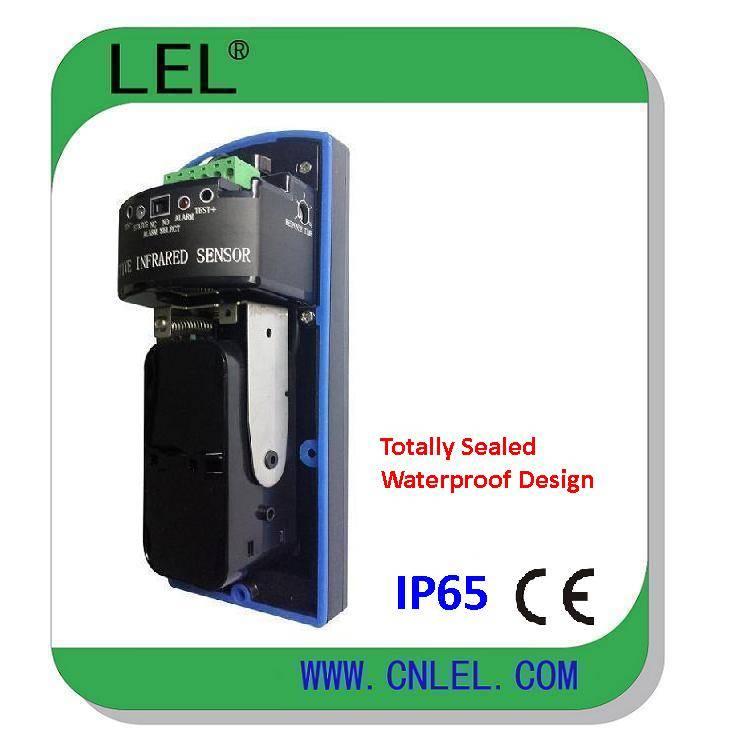 LBD-80   IP65 Degree Waterproof Dual Beams Active Infrared Detector