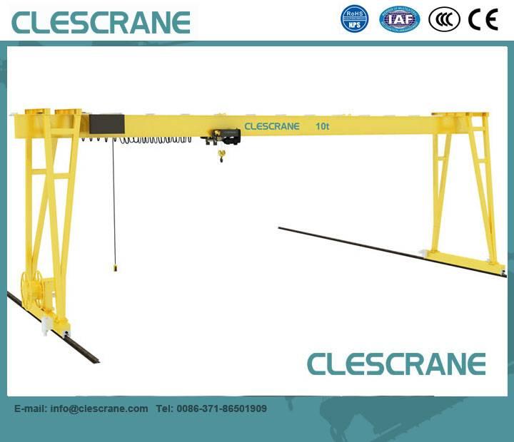 CHG Series China crane top 10 CE certificate good price electric hoist gantry crane 2-63t $1000-$150