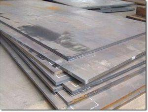 Hardfacing wear resistant steel plate