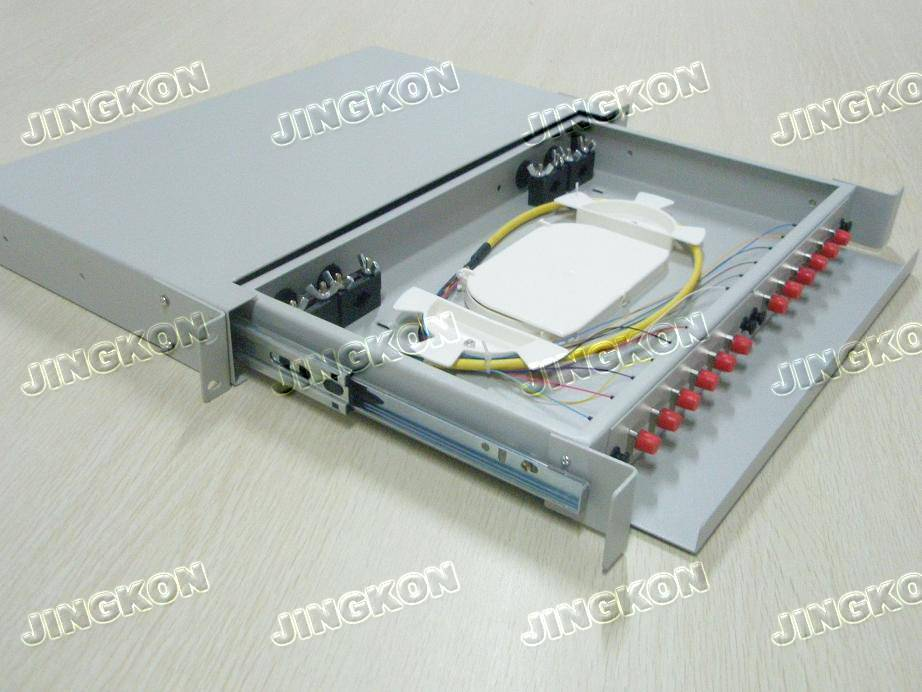 Fiber Optic Patch Panel-FC 12 ports Terminal Box