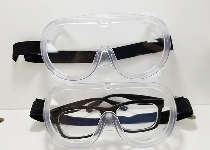 Impact resistant dust proof anti-fog Industrial eye protection safety goggles